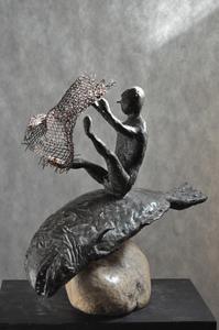 Viktor Ivanovich KORNEEV - Escultura - The Old Man and the Sea
