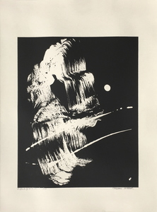 Fabienne VERDIER - Grabado - La grotte de l'Ermite
