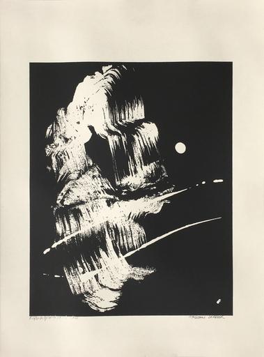 Fabienne VERDIER - Estampe-Multiple - La grotte de l'Ermite