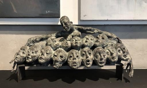 Chantal CHEUVA - Sculpture-Volume - Nichée