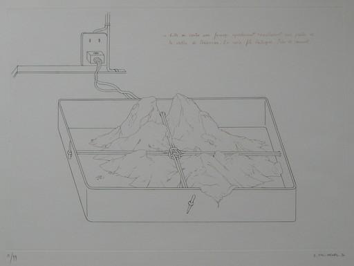 Gérard TITUS-CARMEL - Druckgrafik-Multiple - GRAVURE 1970 SIGNÉE AU CRAYON NUM/99 HANDSIGNED NUMB ETCHING