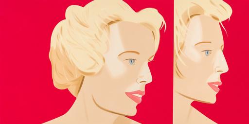 亚历克斯·卡茨 - 版画 - Coca Cola Girl 6 (Portfolio of 9)