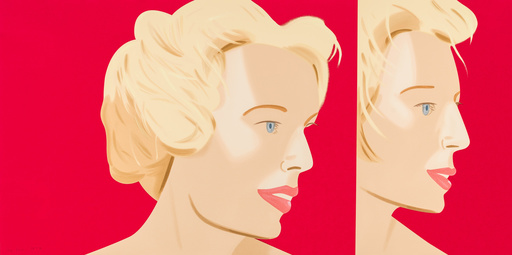 Alex KATZ - Grabado - Coca Cola Girl 6 (Portfolio of 9)