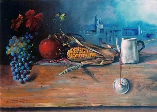 Dusan-Dusko JOVANOVIC - Painting - Parrocchia di Urbino