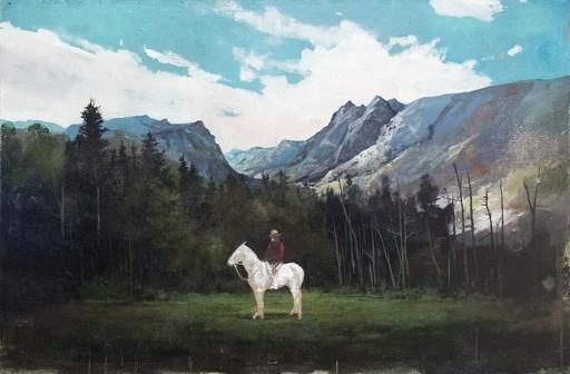 Peter HOFFER - Peinture - Mountie