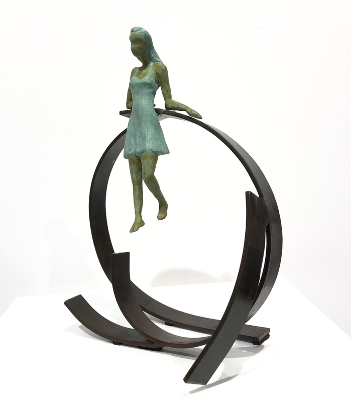 Joan ARTIGAS PLANAS - Sculpture-Volume - Small Anna's circle