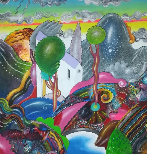 Luca ALINARI - Pintura - Paesaggio