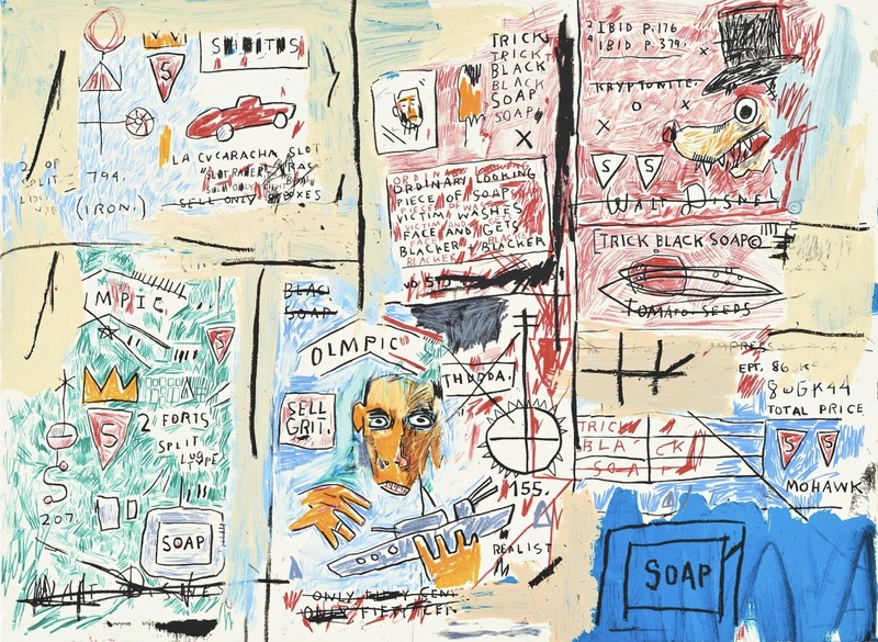 Jean-Michel BASQUIAT - Print-Multiple - Olympic