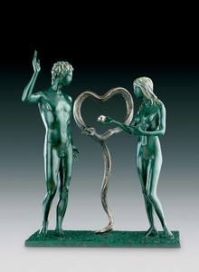 萨尔瓦多·达利 - 雕塑 - ADAM & EVE