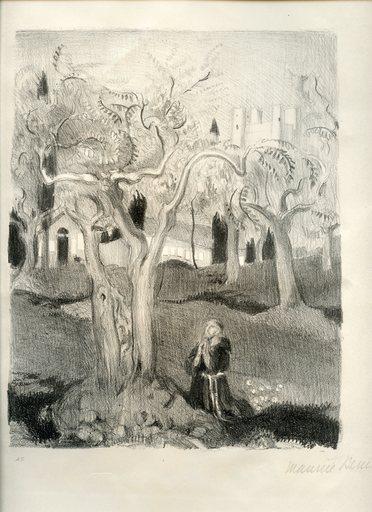Maurice DENIS - Print-Multiple - LITHOGRAPHIE SIGNÉ CRAYON NUM 45 HANDSIGNED LITHOGRAPH