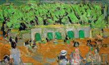 André COTTAVOZ (1922-2012) - Paris, le Jardin des Tuileries