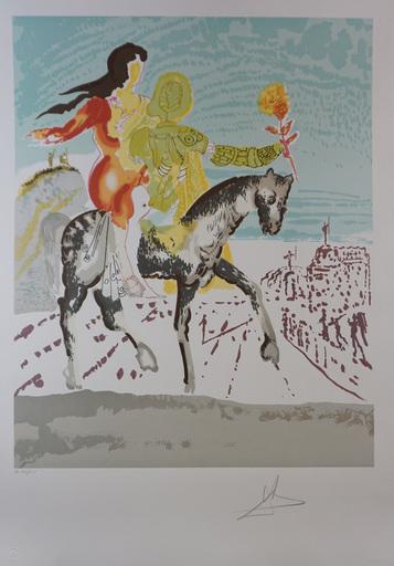 Salvador DALI - Stampa-Multiplo - New Jerusalem The Messiah