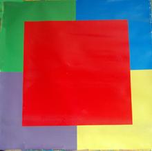 Jo DELAHAUT - Painting - SIGNAL #36