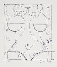 Richard LINDNER - Stampa Multiplo - Marilyn was here 17