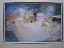 WOLFRAM - Drawing-Watercolor - LE VILLAGE