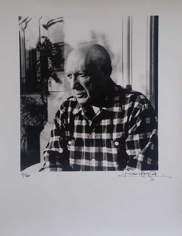 Lucien CLERGUE - Photography - PICASSO LA CALIFORNIE