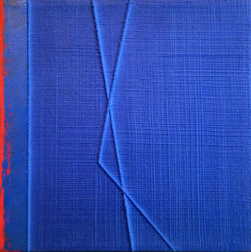 Gianfranco ZAPPETTINI - Painting - La trama e l'ordito n.124