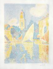Paul SIGNAC - Print-Multiple - Port de Saint-Tropez