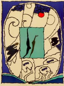 Pierre ALECHINSKY - Print-Multiple - Sans titre