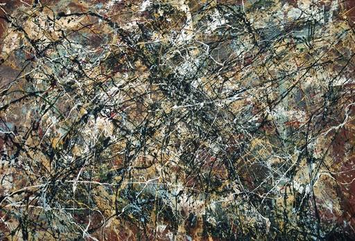 Jean-Jacques MARIE - Gemälde - Composition A403