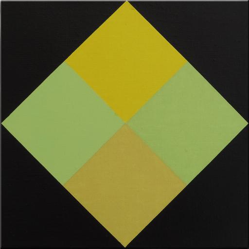 Ode BERTRAND - Gemälde - Les  Angles Noirs couleurs II