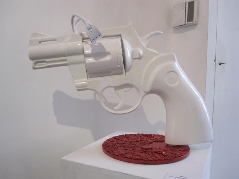 Nasr-Eddine BEN NACER - Escultura - LA GUERRE DES BOUTONS