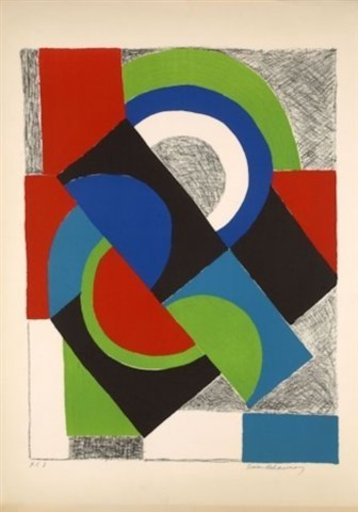 Sonia DELAUNAY-TERK - Stampa Multiplo - Contrepoint