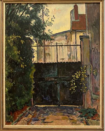 Conrad MEILI - Painting - Le portail