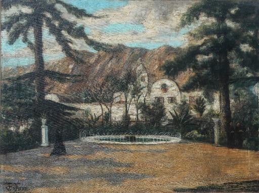 Pancho FIERRO - Painting - Alameda de los descalzos