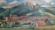 André LHOTE - Painting - Mirmande