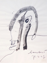 LUCEBERT - Dessin-Aquarelle - Kop