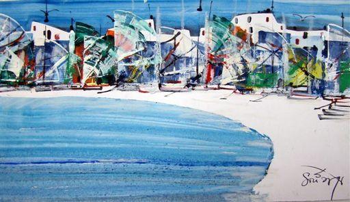 Albert SOCIAS - Painting - Costa Brava