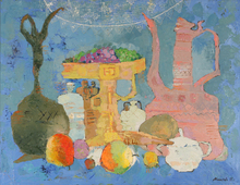 Elena KALLISTOVA - Painting - Country Still Life