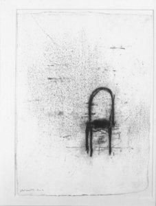 Piero PIZZI CANNELLA - Drawing-Watercolor - SEDIA