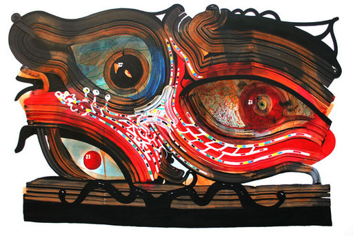 Josep PUIGMARTI VALLS - Painting - Somewhere in the Cosmos