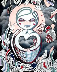 ANTHEA MISSY - Peinture - True Friend By Buddha