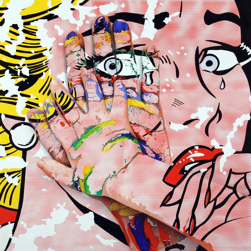 Adria PINA - Pintura - Mans- Mimesi 27