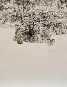 Eduardo CHILLIDA - Grabado - Yves Bonnefoy: Une Hélène de vent au de fumée I