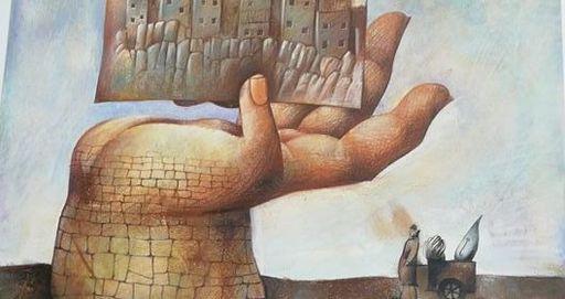 Franco FORTUNATO - Pittura - Senza titolo