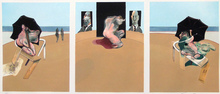 Francis BACON (1909-1992) -  Triptych 1974-1977