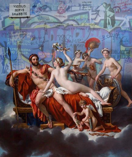 Marco BATTAGLINI - Peinture - Il mio tempo non é ancora venuto