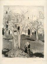 Maurice DENIS - Print-Multiple - LITHOGRAPHIE 1926 SIGNÉE CRAYON NUM100 HANDSIGNED LITHOGRAPH