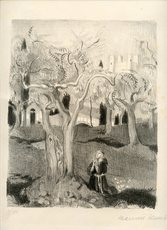 Maurice DENIS - Grabado - LITHOGRAPHIE 1926 SIGNÉE CRAYON NUM100 HANDSIGNED LITHOGRAPH