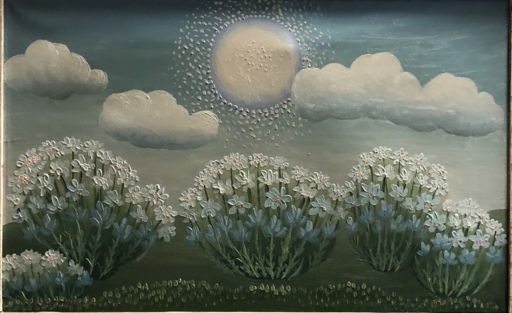 Ivan RABUZIN - Peinture - Wolken und Sonne