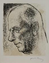 Edouard Georges MACAVOY (1905-1991) - Portrait d'homme de profil