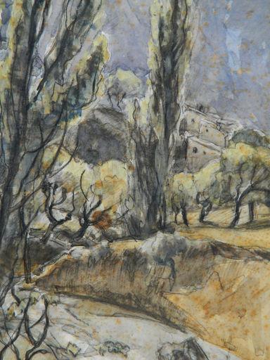 Henriette MOREL - Drawing-Watercolor - PAYSAGE