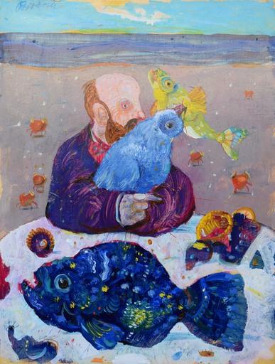 Antonio POSSENTI - Peinture - Senza titolo