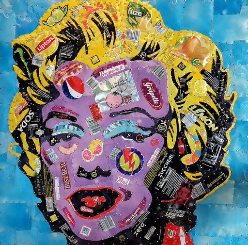 William ZANCA - Pintura - Marylin