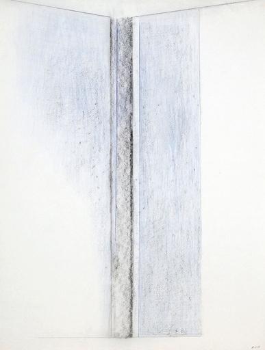 Geneviève ASSE - Disegno Acquarello - Ouverture bleue