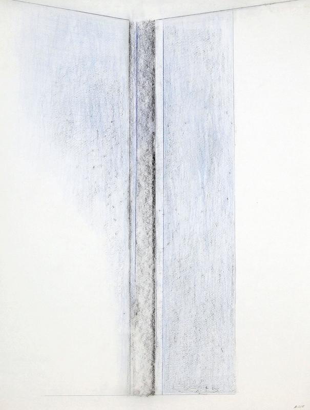 Geneviève ASSE - Drawing-Watercolor - Ouverture bleue